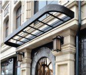 Элемент фасадного декора из архитектурного бетона
